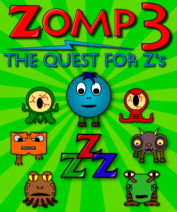 Zomp 3: The Quest for Z's Box Art #2